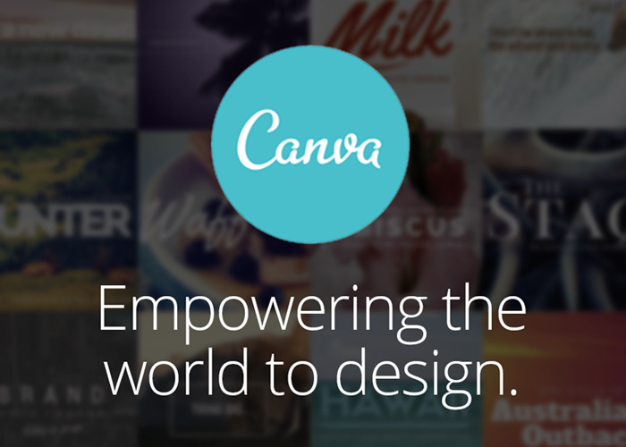 Create your content template using canva