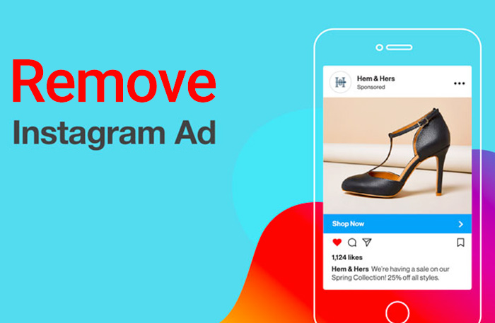 how to remove instagram ads