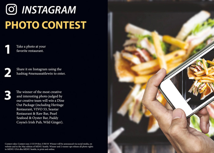 Instagram Marketing by photo contest
