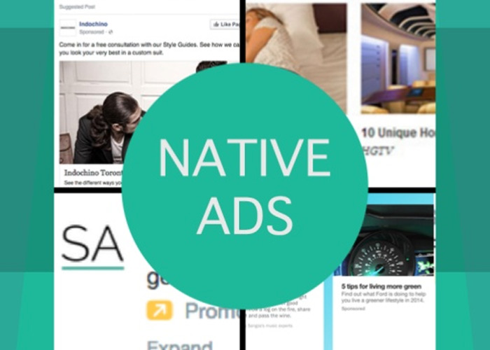 Native Ads come in handy for businesses to get their message across in a different way.