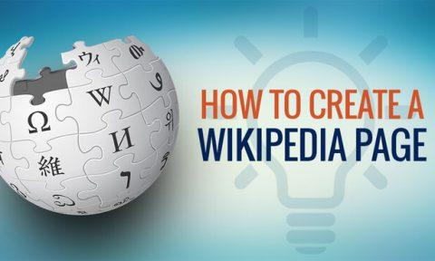 ساخت صفحه در ویکیپدیا