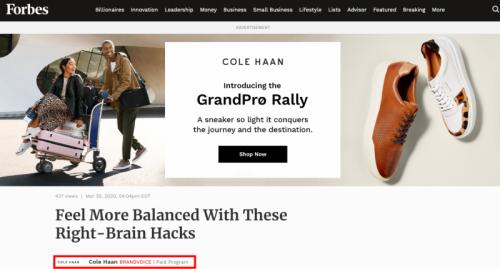 افزایش نرخ تبدیل با رپورتاژ آگهی