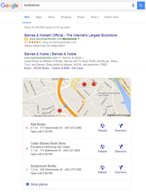 قرار دادن سایت در گوگل مپ