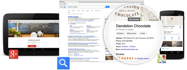 گوگل مای بیزینس Google My Business