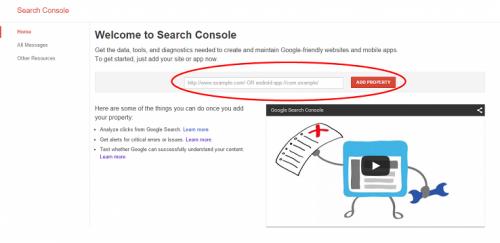 آموزش استفاده از وبمستر تولز یا کنسول جستجوی گوگل