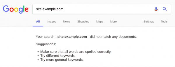 اسپم در گوگل