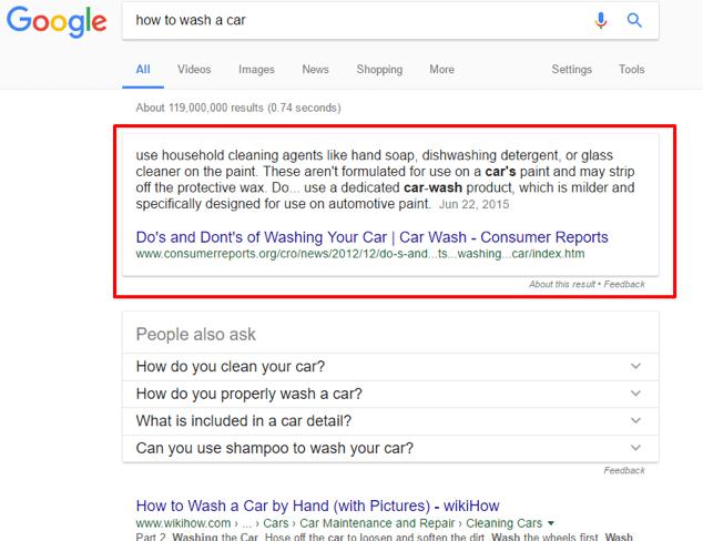 افزايش بازديد جستجوی گوگل