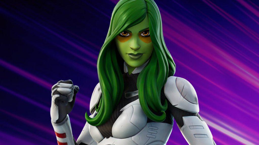 Gamora-Fortnite