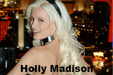 Holly Madison ,The Girls Next Door : I look like a stick!