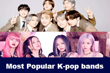 The Most Popular K-pop bands