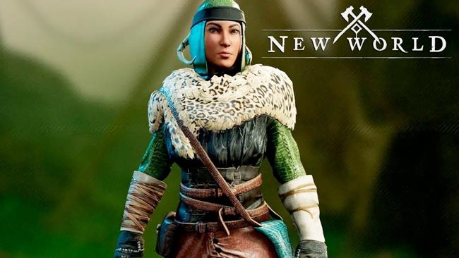 Twitch Gamescom skin in New World