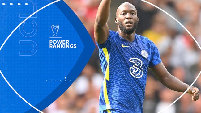 UEFA Champions League Power Rankings