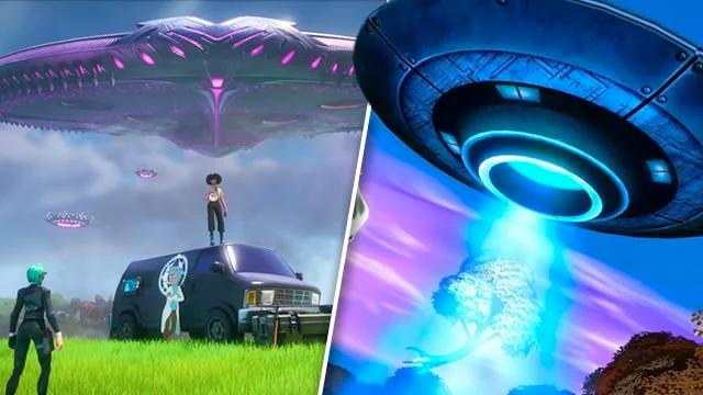 Visit Mothership or an Alien Biome Fortnite