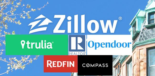 Zillow vs Trulia, realtor, redfin, opendoor, compass