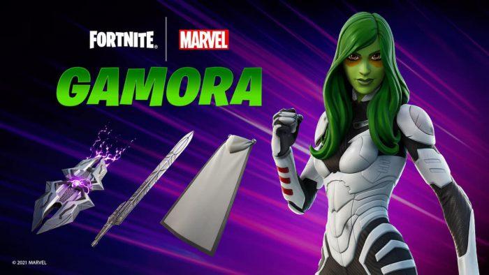 gamora fortnite skin