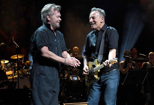 John Mellencamp and Bruce Springsteen