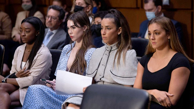 Simone Biles, Aly Raisman, McKayla Maroney and Teammates Testify on F.B.I.'s Handling of Abuse Case