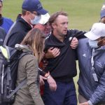 Harry Potter star Tom Felton Draco Malfoy collapses during Ryder Cup