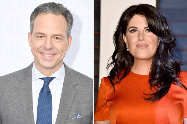 Jake Tapper Discusses His 'G-Rated' Date with Monica Lewinsky in New Interview