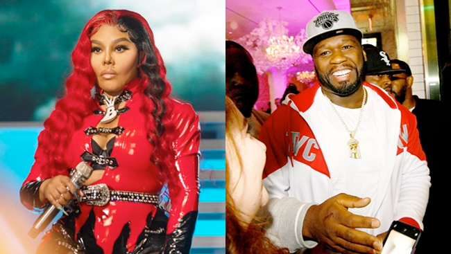 Lil' Kim and 50 cent