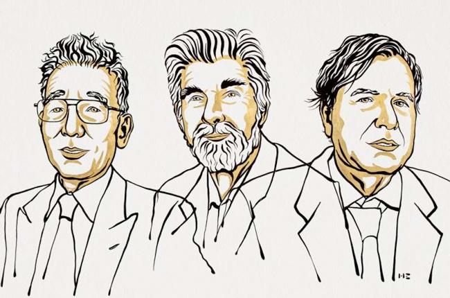 The winner of the Nobel Prize in physics are : Syukuro Manabe, Klaus Hasselmann and Giorgio Parisi