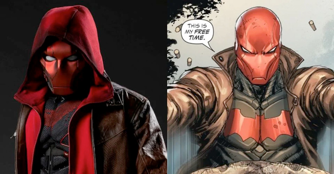 Red Hood Titans DC Comics